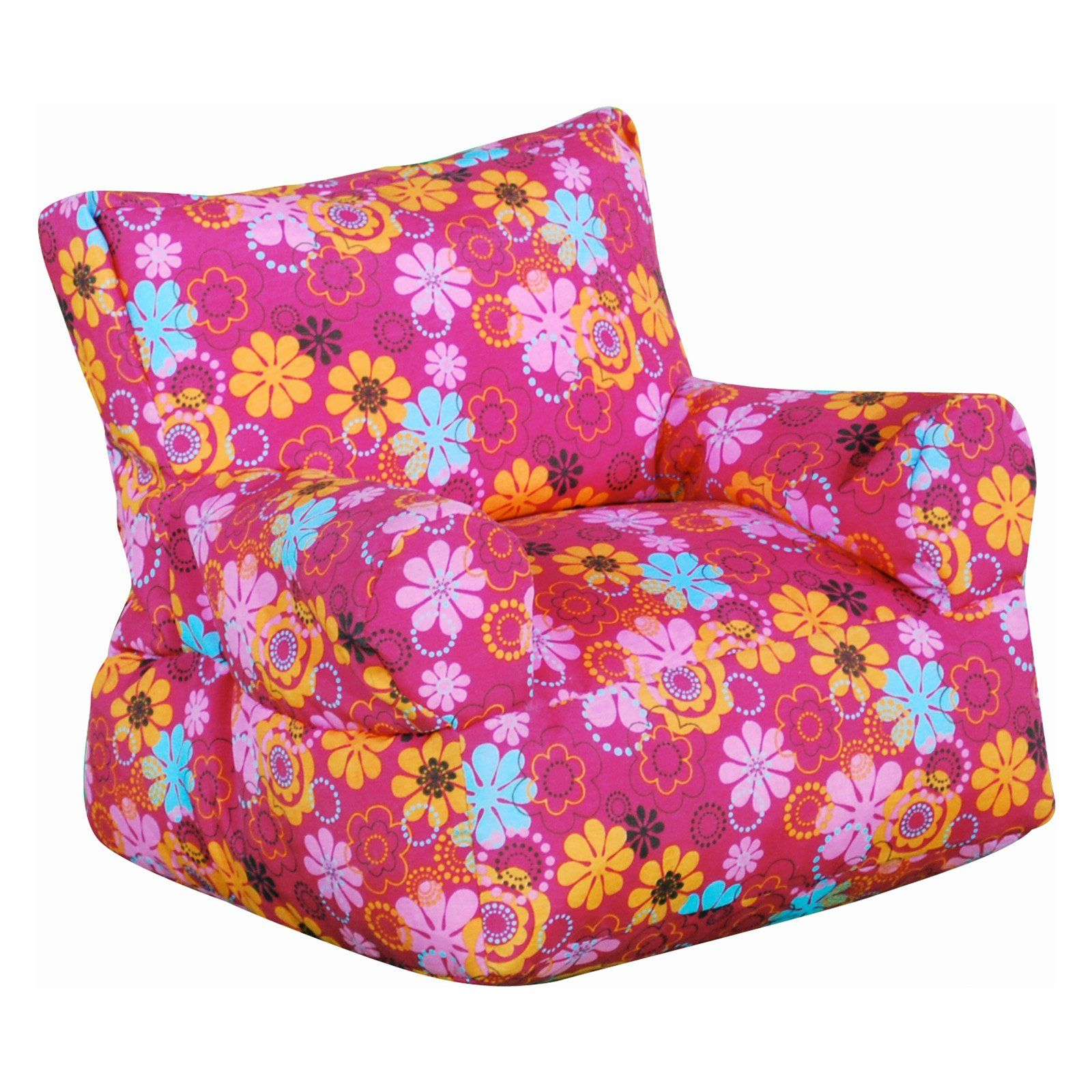 Have to have it fun factory junior arm chair pink flower