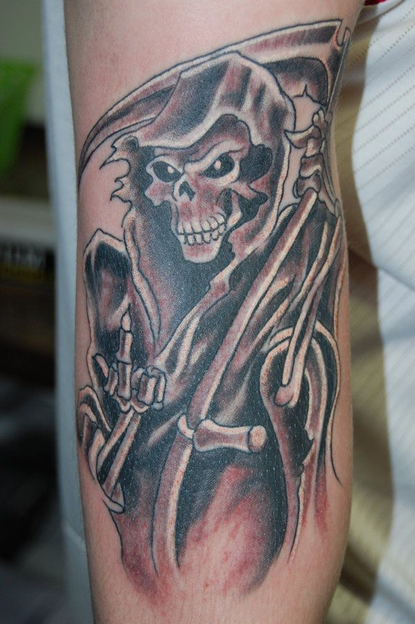 Free Grim Reaper Tattoo Designs Grim Reaper Tattoos Grim My Shit