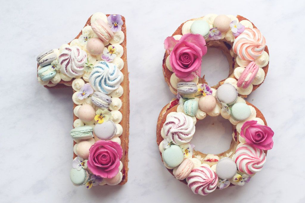 Step By Step 18th Birthday Cake Showstopper Recipe Recipe 18th Birthday Cake 18th Cake 18th Birthday Cake For Girls