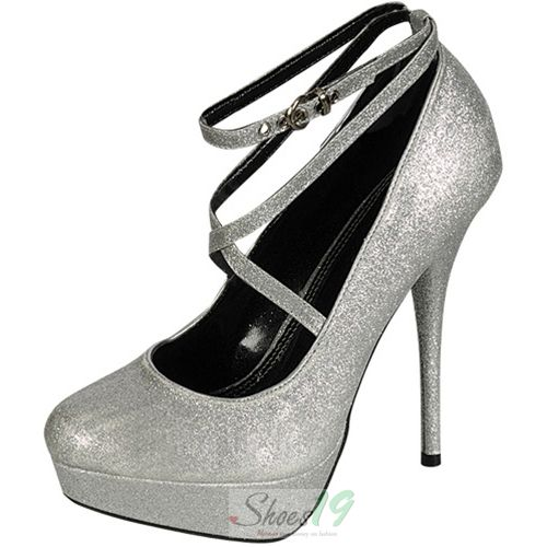 need silver shoes for my bridesmaid dress....?!?!     Trendsup Glam-2 Mary Jane Silver Glitter Platform Pumps - Round Toe Classic Pumps Clubbing Wedding Prom Fashion Style Bridal Interview Work Graduation $24.99