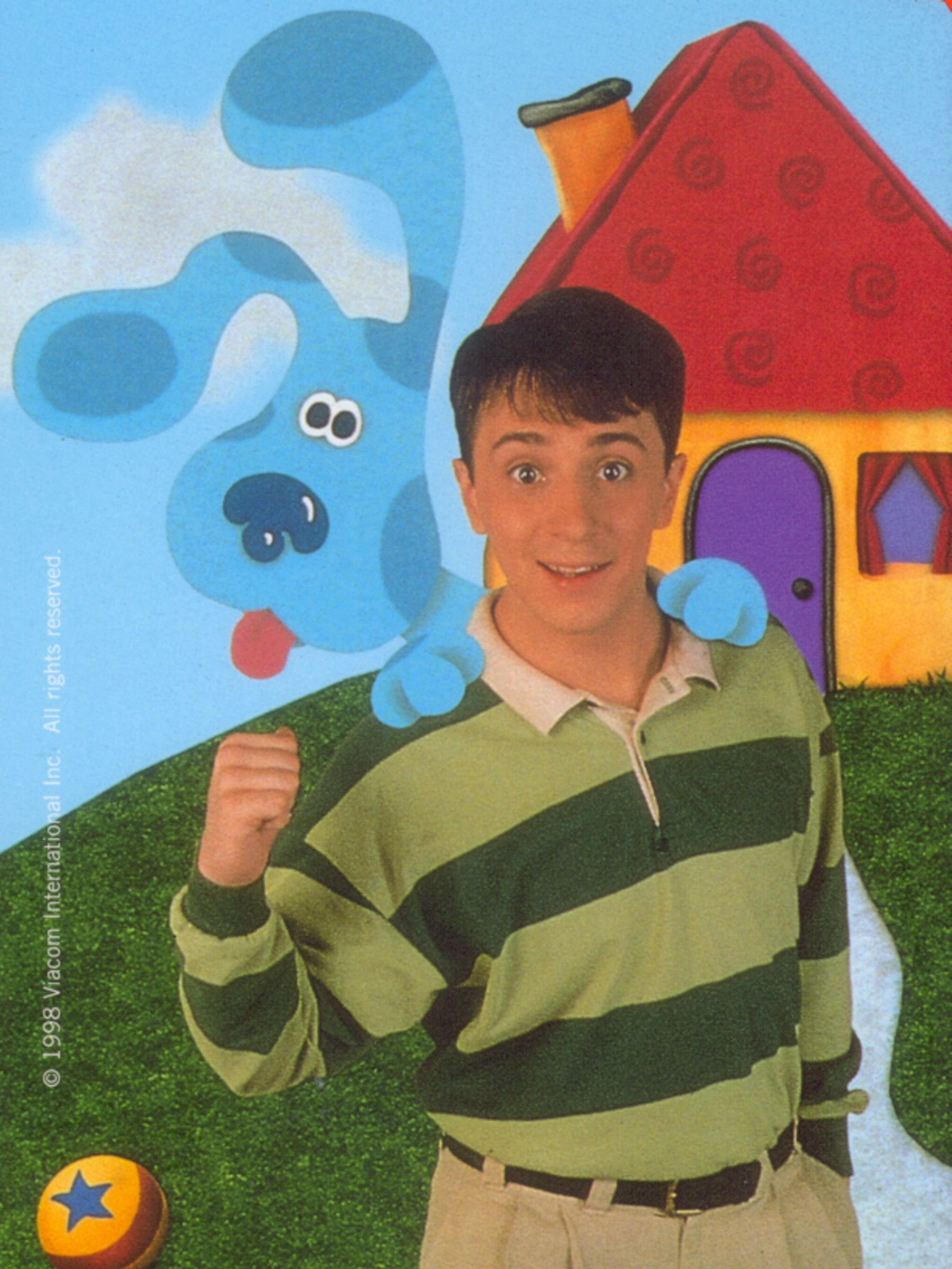 This is a picture of Insane Blues Clues Image