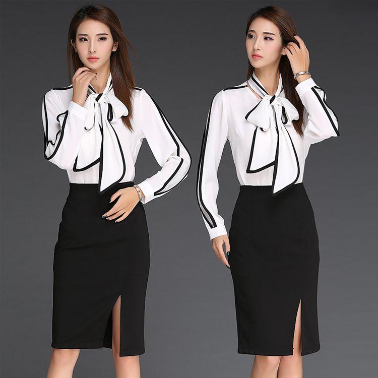 2016 New Arrival Spring Summer Korean Women Office Dress Designs Patchwork O-neck Long Sleeve Loose Women Fashion Casual Dress