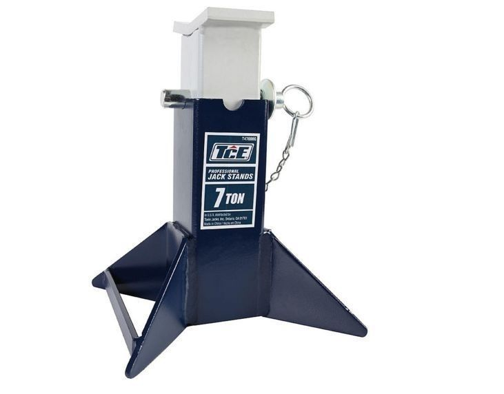 Duty Heavy Jack Ton Stand Lift Car 2 3 New Steel Stands Hydraulic Garage 4 Pair  #TCE