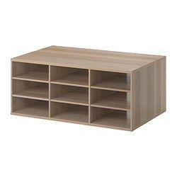 IKEA - KOMPLEMENT, Inzet basiselement met vak, 100x58 cm, , Gratis 10 jaar…