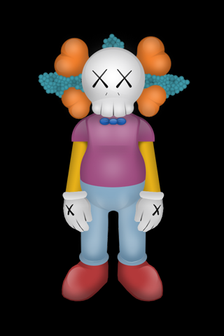 Kaws Iphone Krusty Android Wallpaper Hd Kaws Art In 2019
