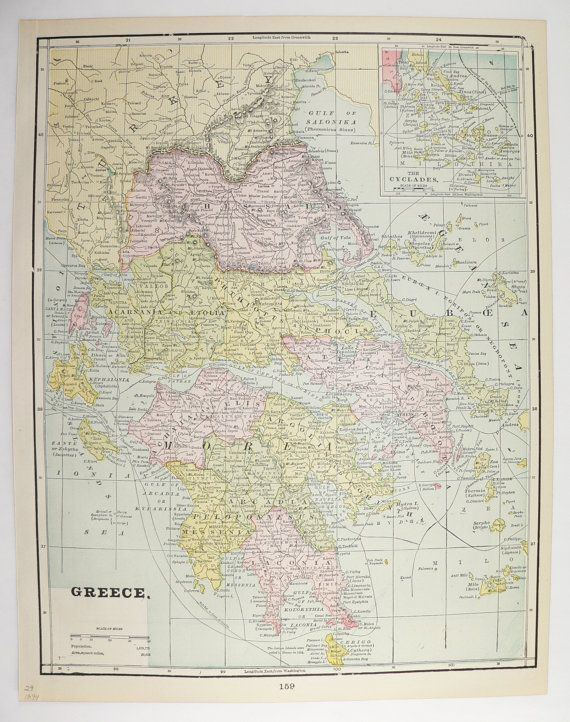 1894 antique map greece cyclades map turkey balkans map vintage 1894 antique map greece cyclades map turkey balkans map vintage map greek islands old world map greece gift vintage decor gift for him gumiabroncs Images