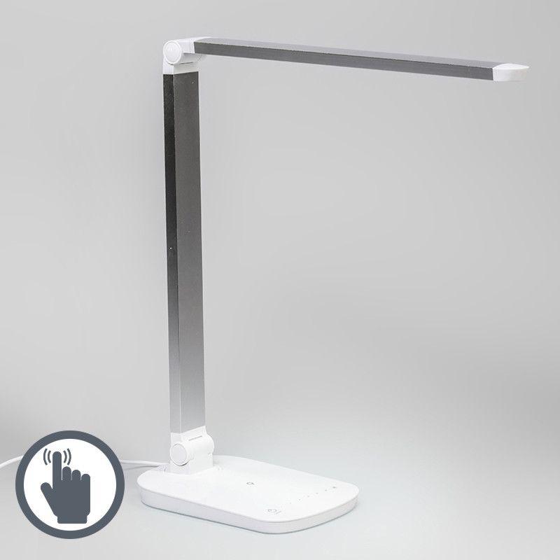 Tischleuchte Office LED weiß-silber #Angebote #Sale #Ausverkauf #Außenbeleuchtung #Innenbeleuchtung #lampen #Leuchte #Light #wohnen #einrichten #Outlet