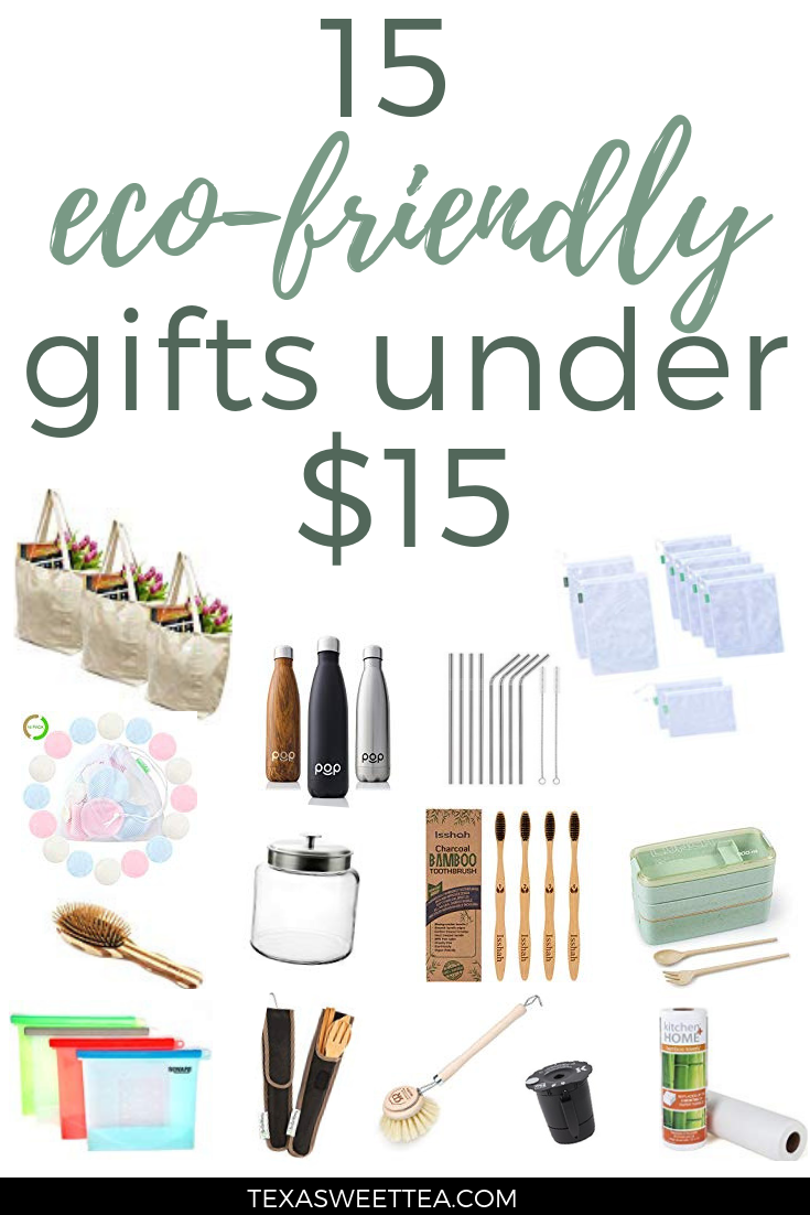 15 Eco Friendly Gifts For Under 15 Eco Friendly Christmas Eco Friendly Living Eco Friendly Gifts