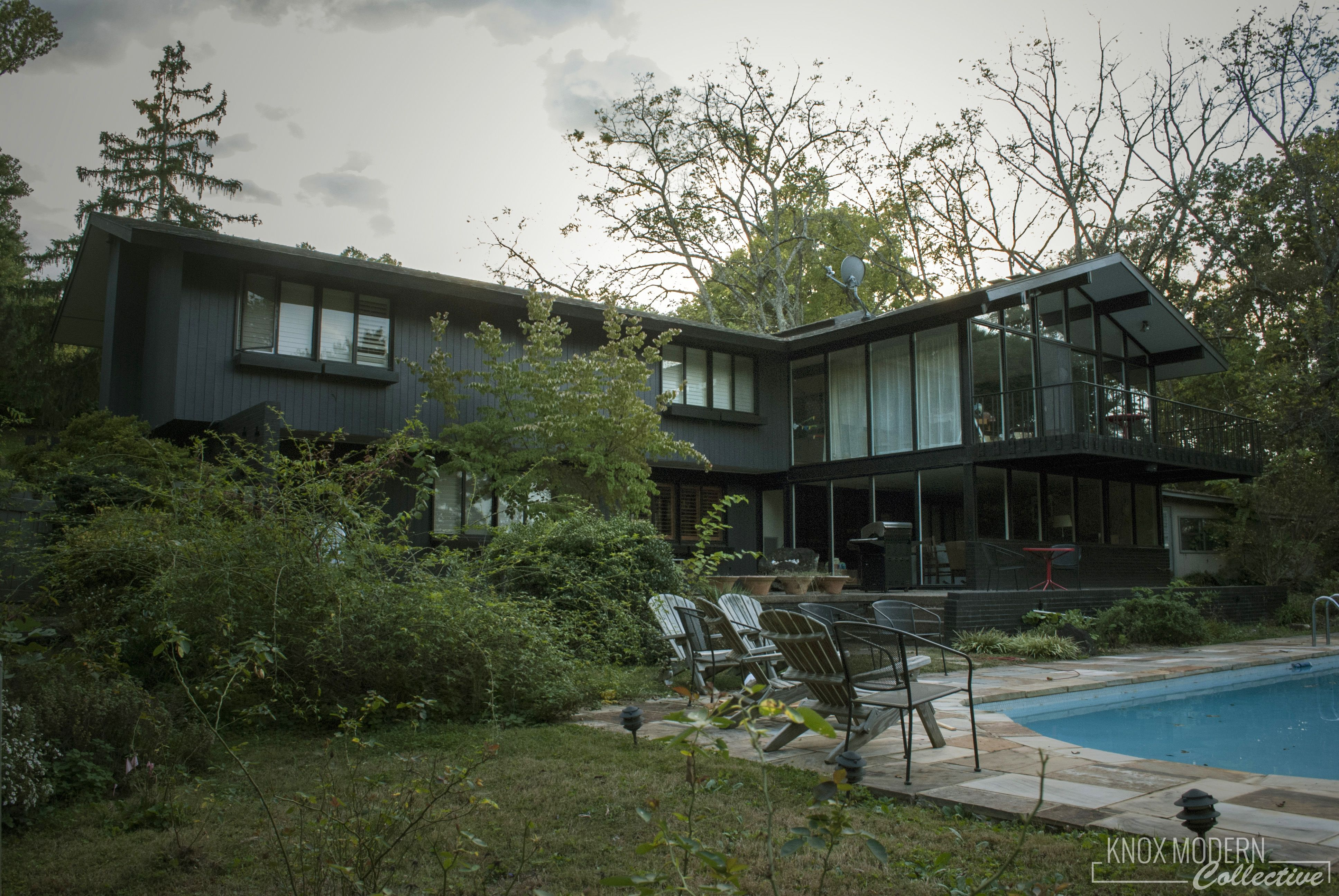 Ambroziak/Davis house, design by Bruce McCarty 1960 ...