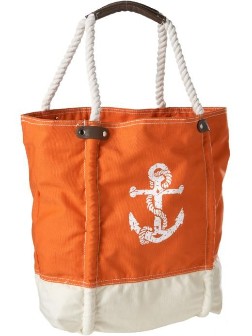 Cute Canvas Beach Bag From Old Navy 20