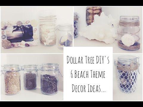 dollar tree beach theme diy collab w jay munee diy diy beach theme