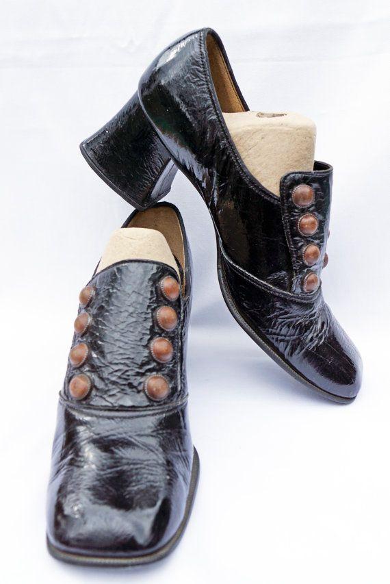 winkelen voor fabriek authentiek gezellig fris 1960s Groovy Studded Shoes 9-9.5   Schoenen in 2019 ...