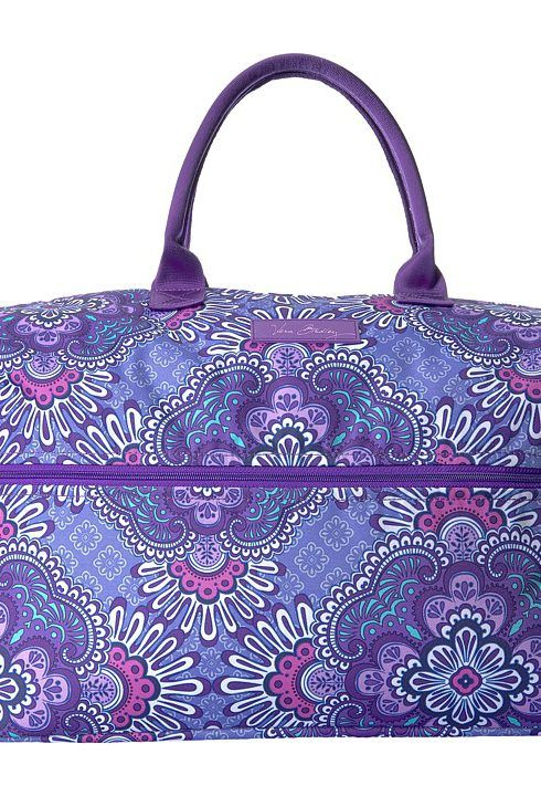 Vera Bradley Luggage Lighten Up Expandable Travel Bag (Lilac Tapestry) Weekender/Overnight Luggage - Vera Bradley Luggage, Lighten Up Expandable Travel Bag, 14481-669, Bags and Luggage Weekender/Overnight, Weekender/Overnight, Luggage, Bags and Luggage, Gift, - Fashion Ideas To Inspire