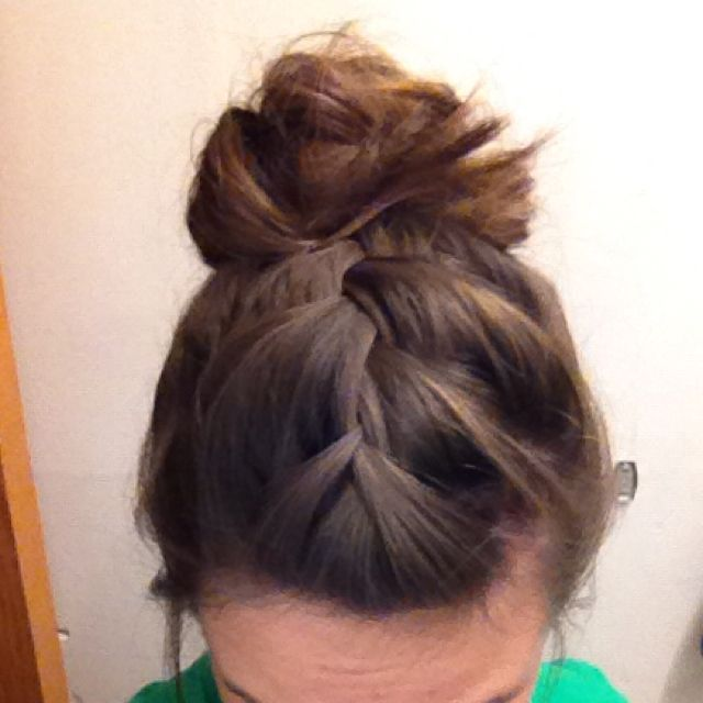 I have done this for some cute workout hair!   # Pin++ for Pinterest #