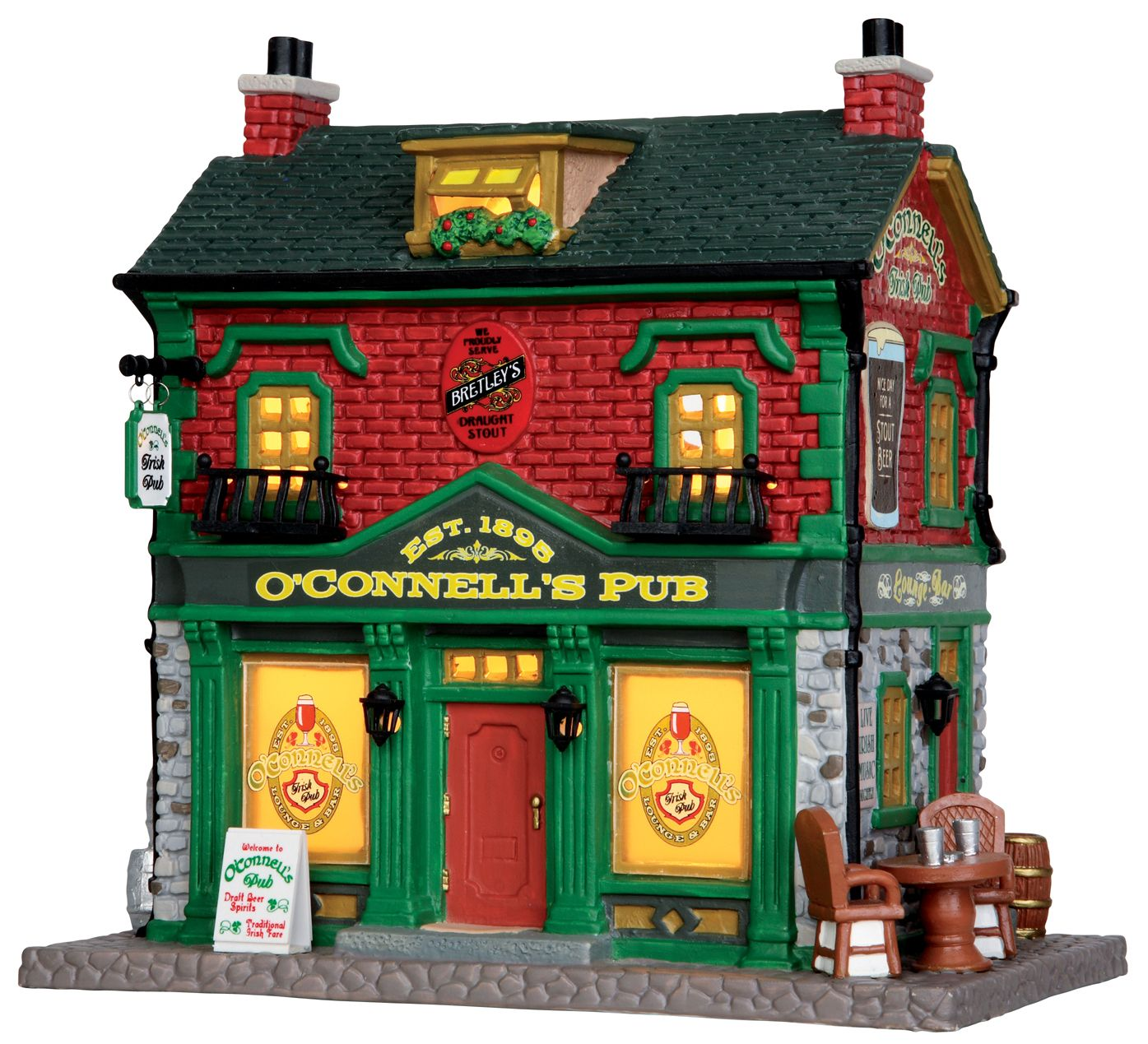 Lemax O'Connell's Irish Pub SKU 35600 Released in