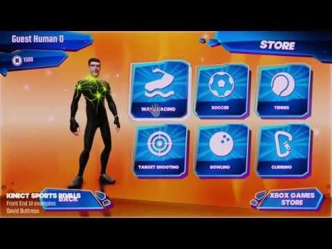 David Buttress - Kinect Sports Rivals - Front End - YouTube