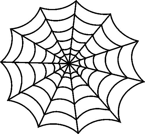 Kleurplaten Zwarte Spiderman.Spider Web Clip Art Spider Web Image Thematisch