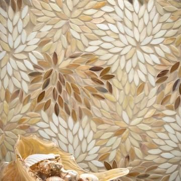 Estrella Cream Jazz Glass - Artistic Tile