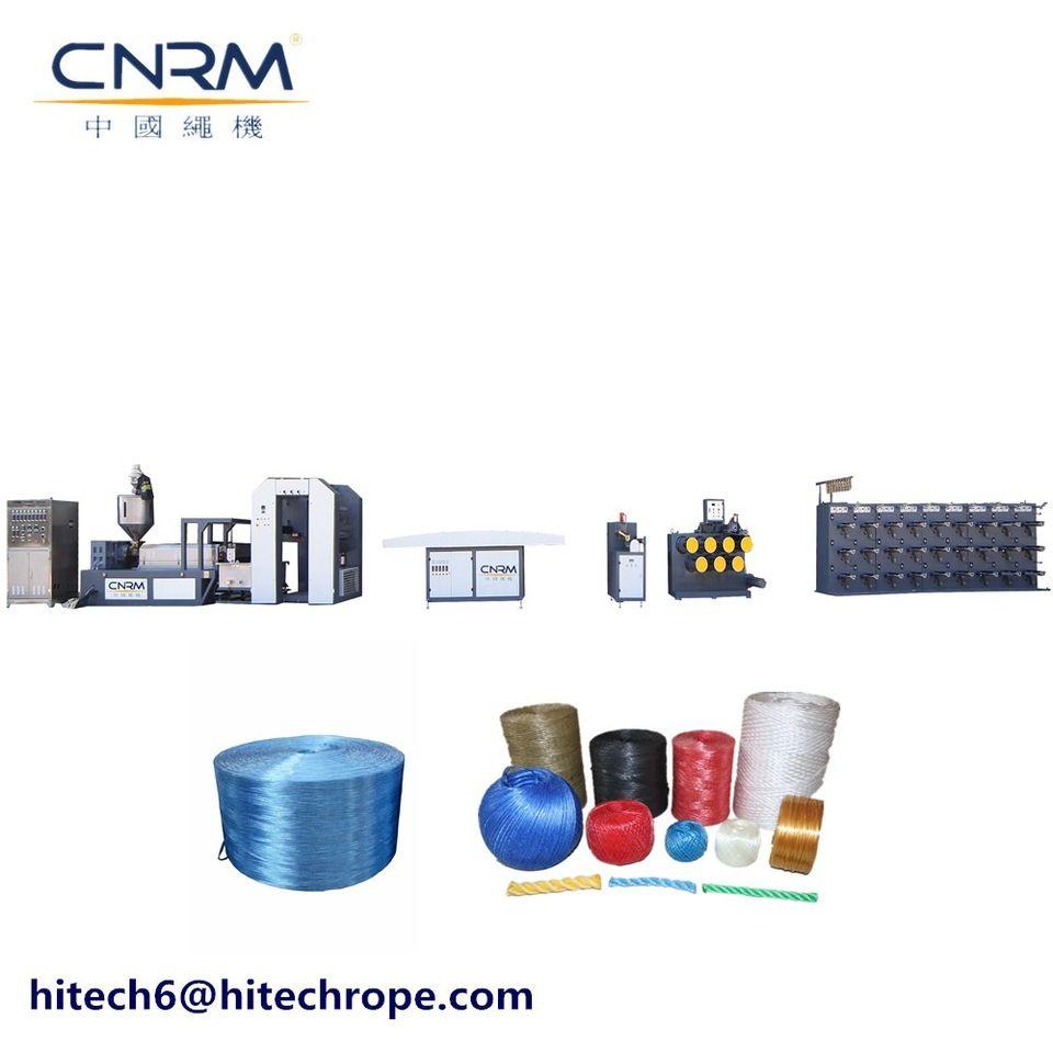 plastic raffia yarn extruder machine with pp raffia tape