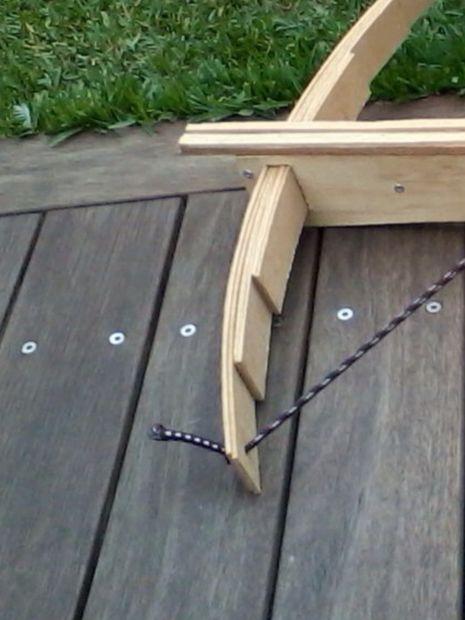 homemade cross bow armbrust bogen und bogen bauen. Black Bedroom Furniture Sets. Home Design Ideas