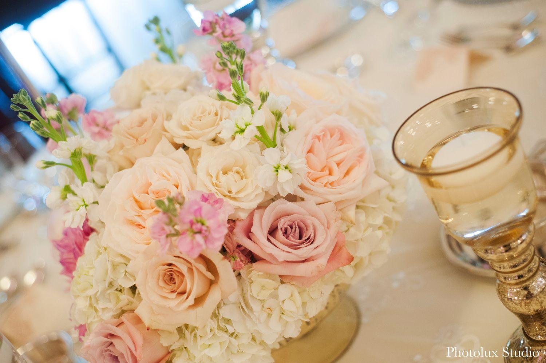 Elegant blush, cream and champagne wedding at Chateau Laurier in Ottawa.