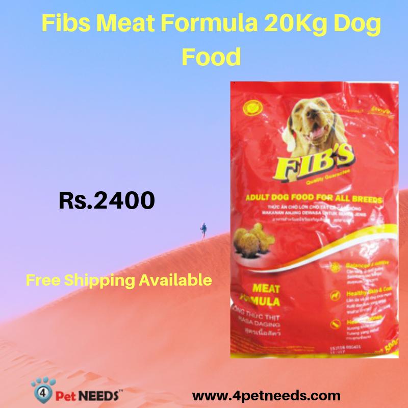 Fibs Meat Formula 20kg Dog Food Dog Food Recipes Dog Food Online Dogs