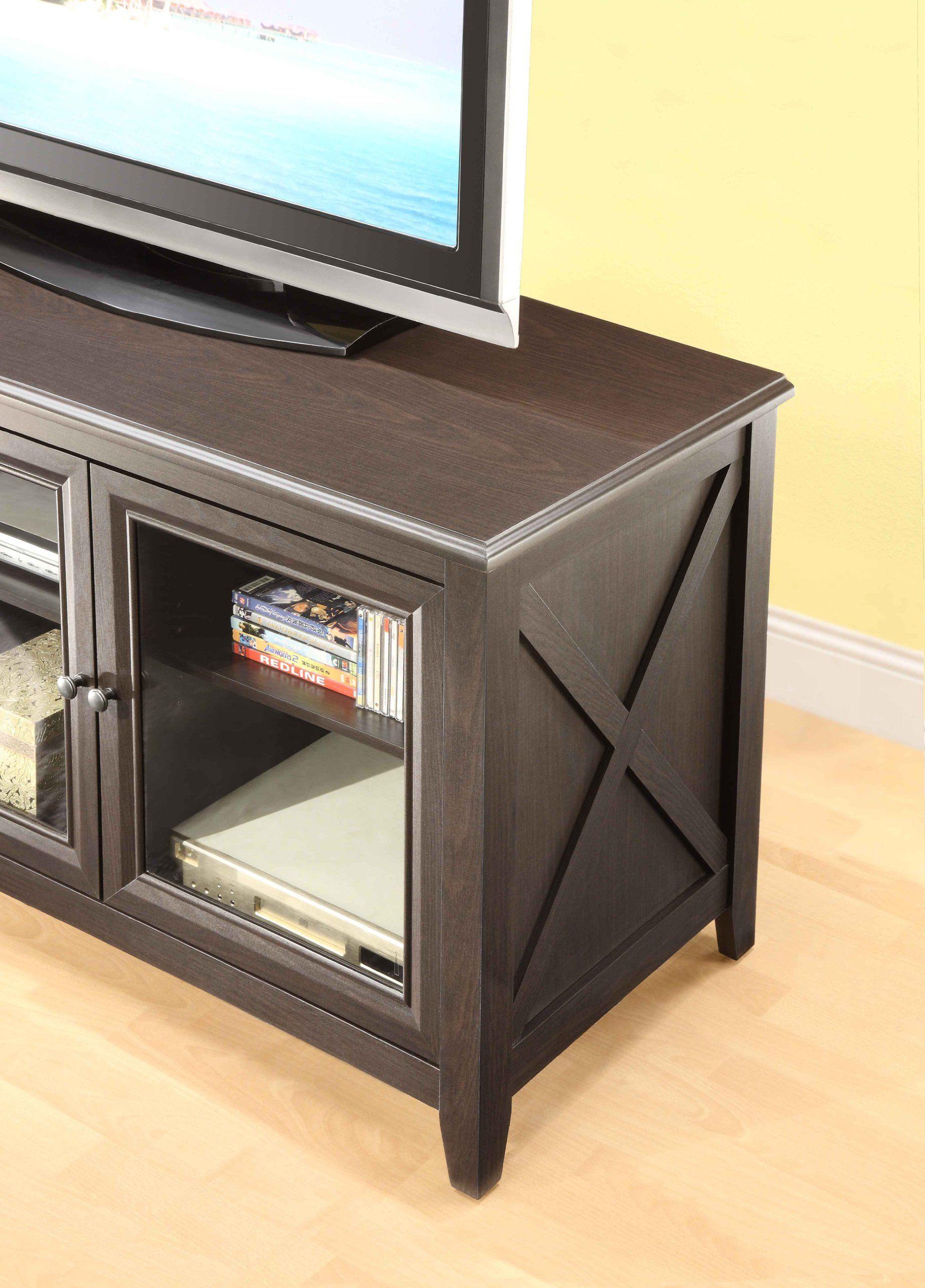 Amazon Com Whalen Furniture Avh 1 High Television Console 44 Inch Television Stands Whalen Furniture Home Office Decor Television Console
