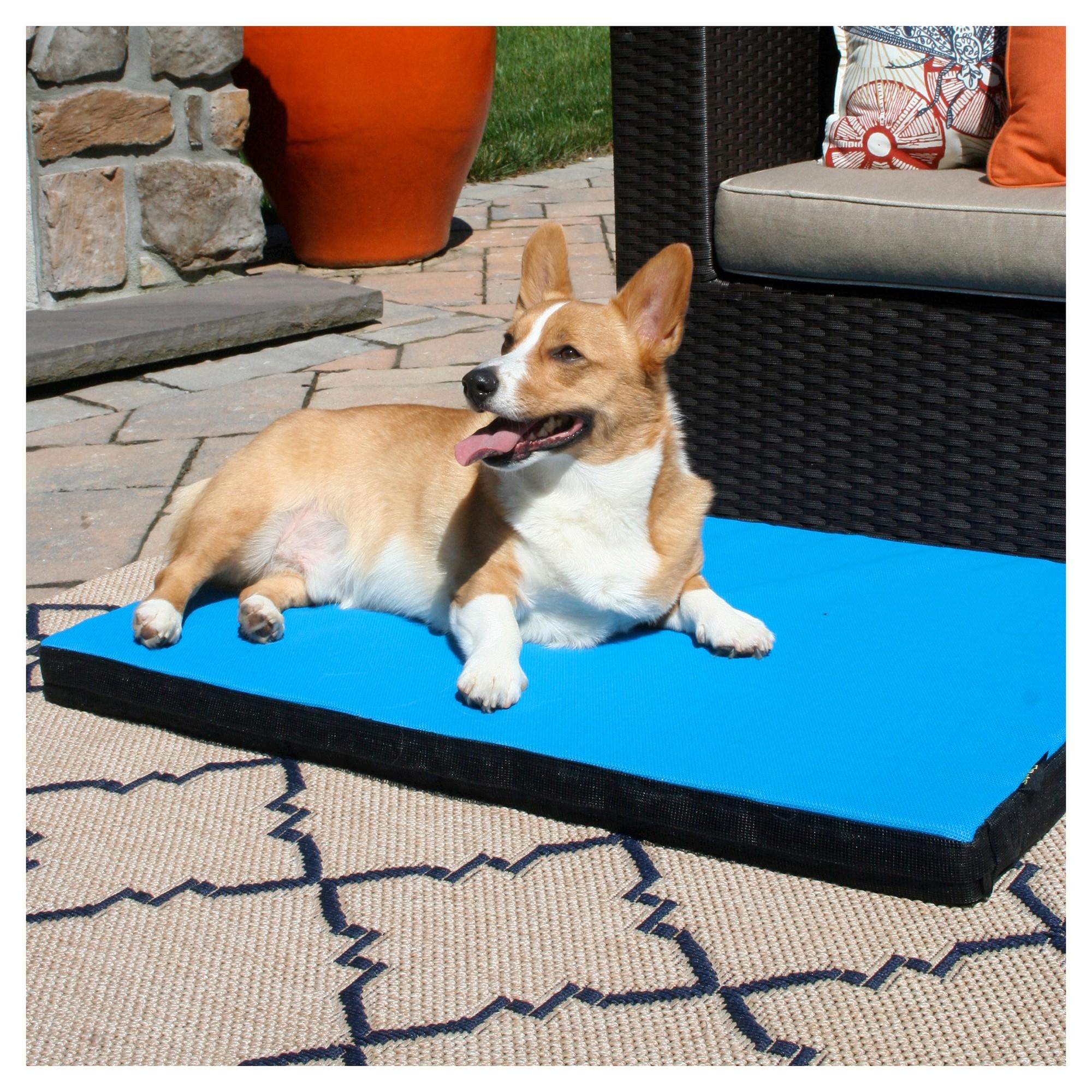 Gen7Pets CoolAir Pad Pet Bed TrailBlazer Blue M Dog