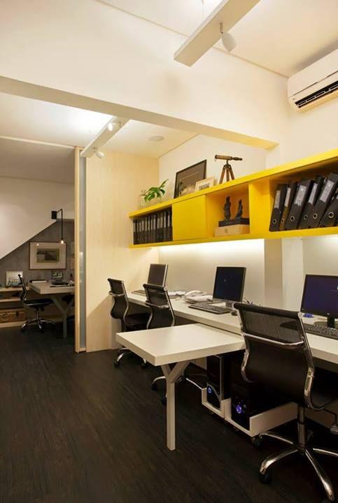Escritorio Bruno Carvalho Camila Avelar Arquitetura Workstation