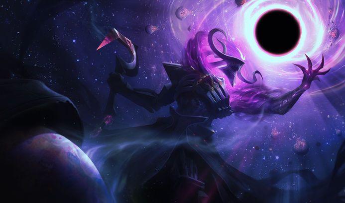 Thresh Dark Star League Of Legends Art
