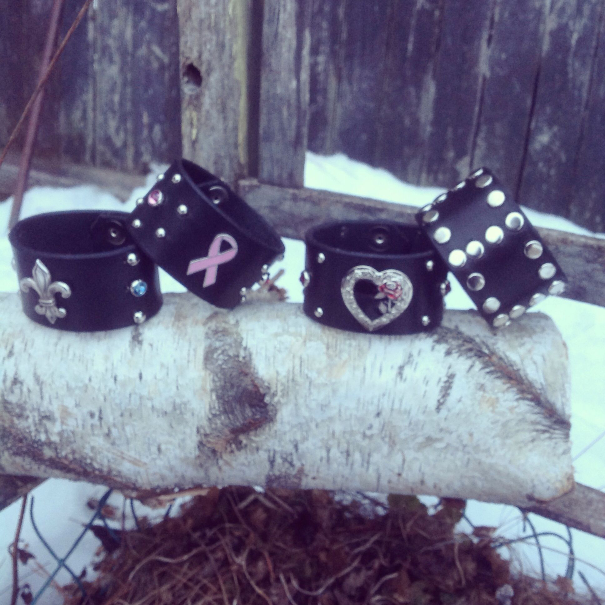 Wristbands & more....East Side Collars