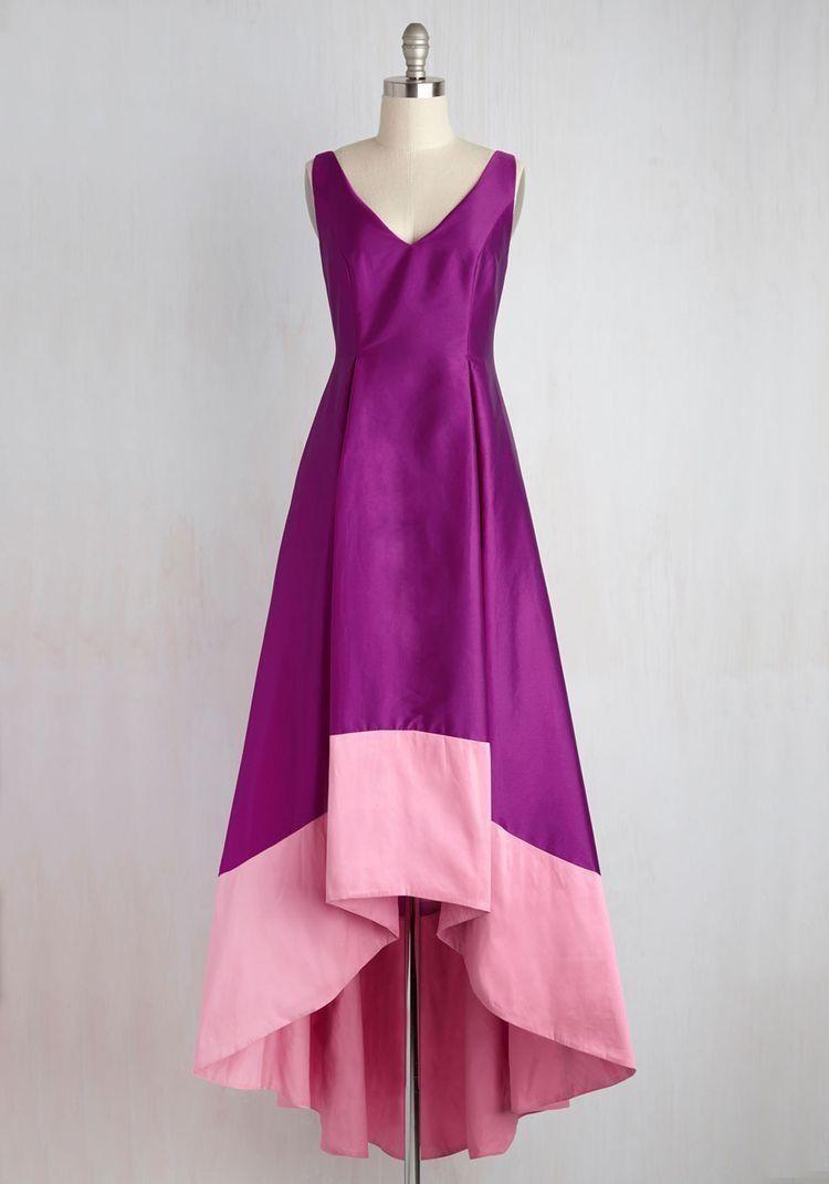 Contemporáneo Pálidos Vestidos De Fiesta De Color Rosa Adorno ...