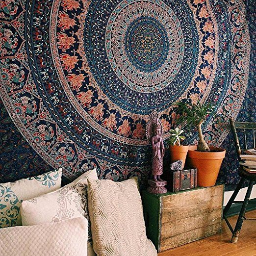 Mandala tapestry wall hanging room decor