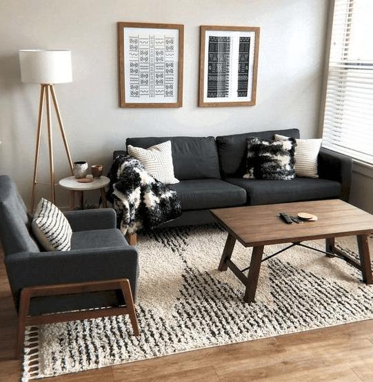 25 Minimalist And Modern Apartment Living Room Design Ideas Eweddingmag In 2020 Apartment Living Room Design Living Room Decor Apartment Modern Apartment Living Room