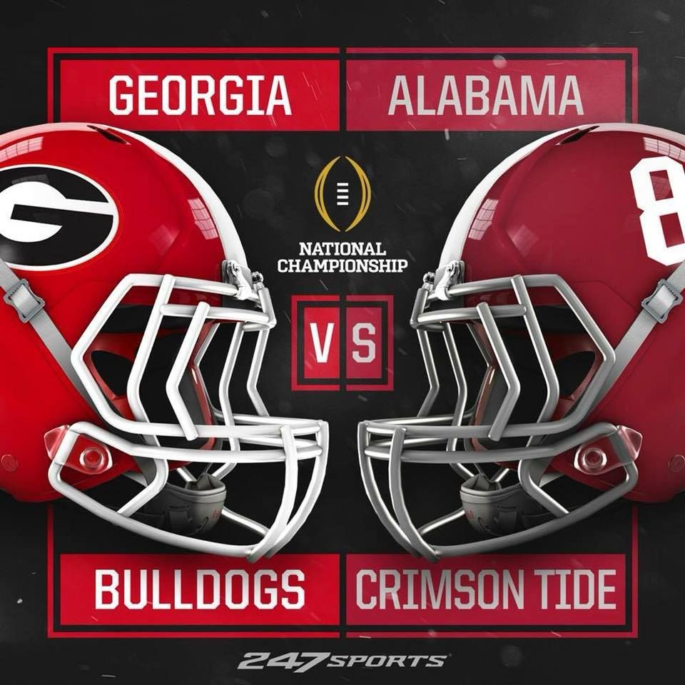 Bulldogs vs. Alabama Crimson Tide (With images