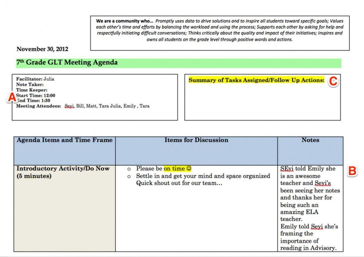 Grade Level Meeting Agenda Template Teacher Team Meeting Agenda Template Excel Meeting Agenda Template Meeting Agenda Agenda Template Teacher team meeting agenda template