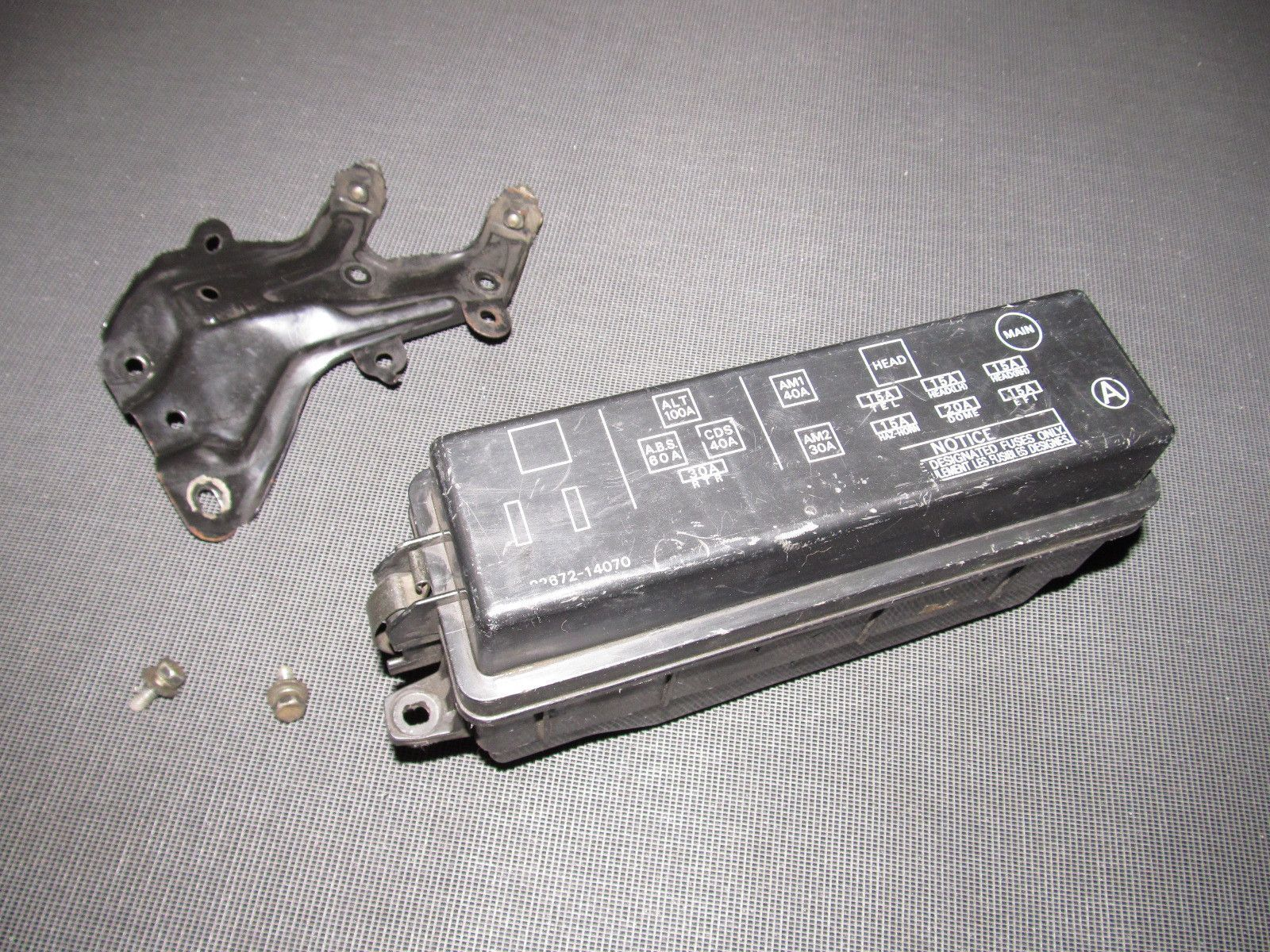 hight resolution of 89 90 91 92 toyota supra oem engine fuse box