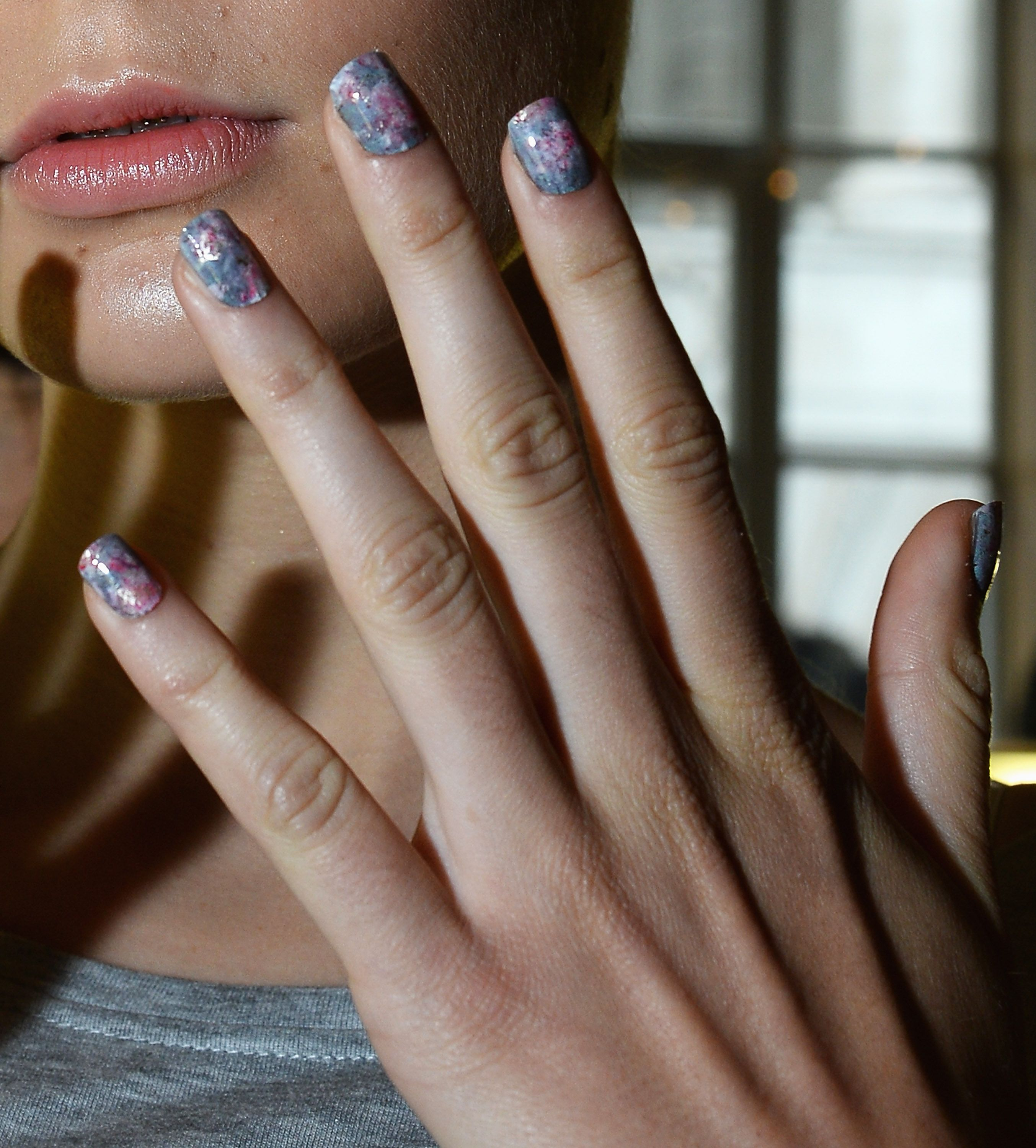 17. These abstract floral nails from Michael van der Ham ...