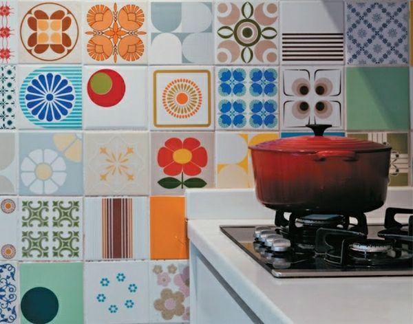Wandfliesen Für Die Küche U2013 Tolle Küchenausstattung Ideen   Wandfliesen  Küche Eklektisch Stil