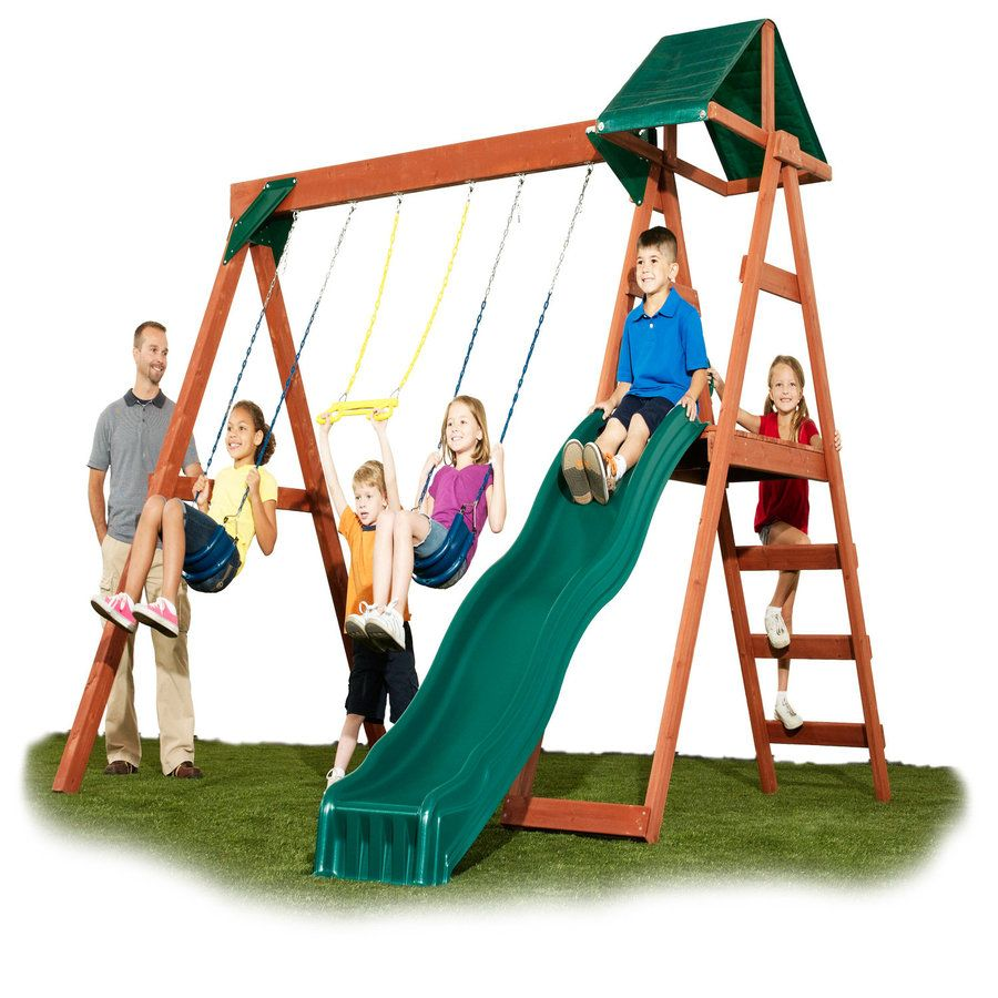 Shop Swing-N-Slide McKinley Ready-to-Assemble Kit ...