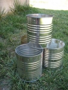 101 Uses For Empty Food Storage Cans Food Storage Survival Canning