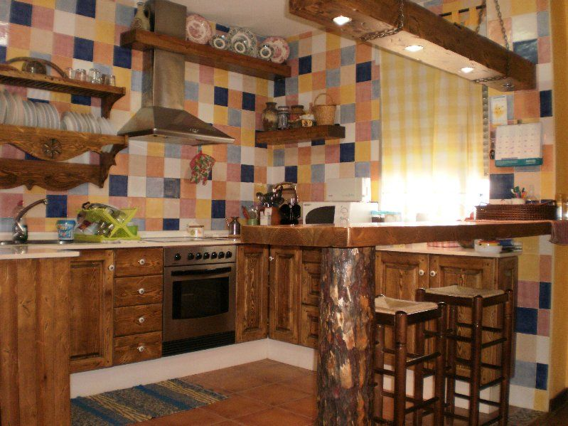 Decoración de Cocinas Rústicasjpg2 Cocinas Pinterest