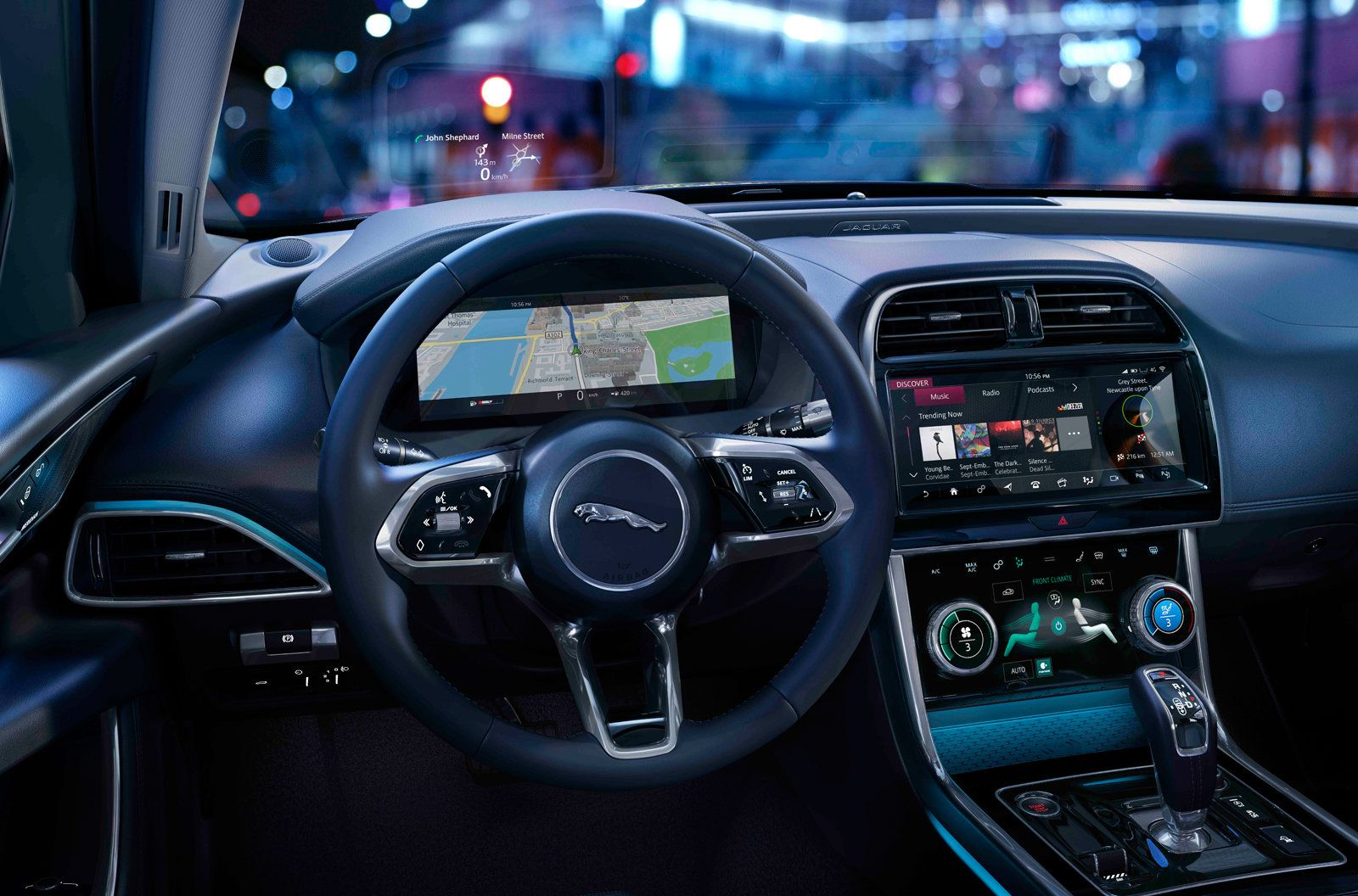 Jaguar S 2020 Xe Uses Ai To Help You Get Comfortable Jaguar Xe Jaguar Suv Interior Jaguar