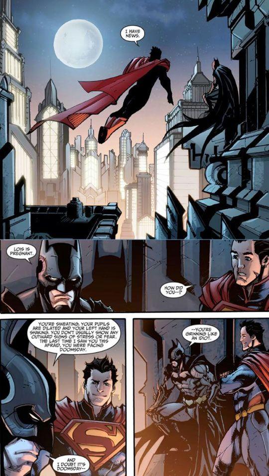 The start of Injustice is soooo beautiful ♥♥♥ Then...the Joker fucks everything :'(