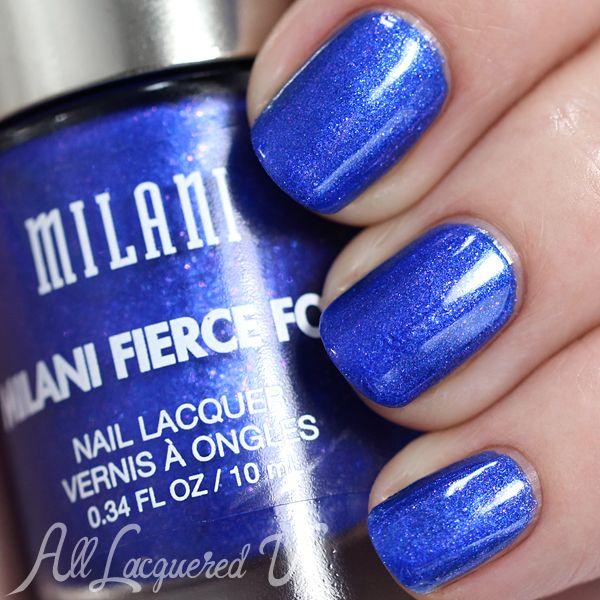 Milani Fierce Foil Venice swatch via @alllacqueredup   Cool Nails ...