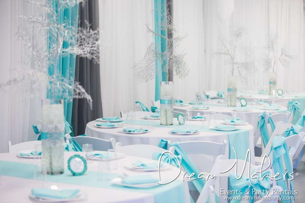 winter wonderland themed party decoration ideas