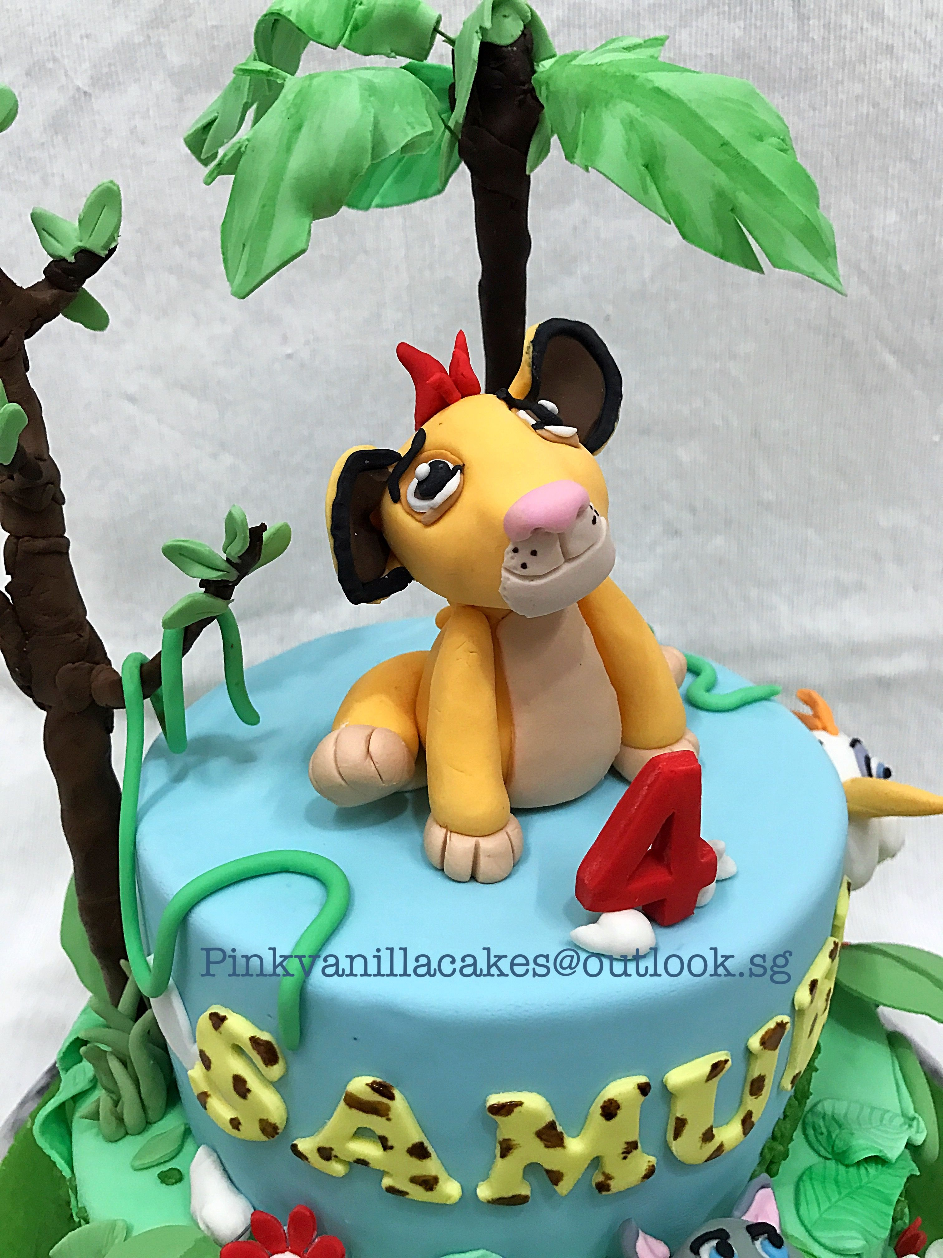 Lion Guard Kion Birthday Cake Singapore Jungle