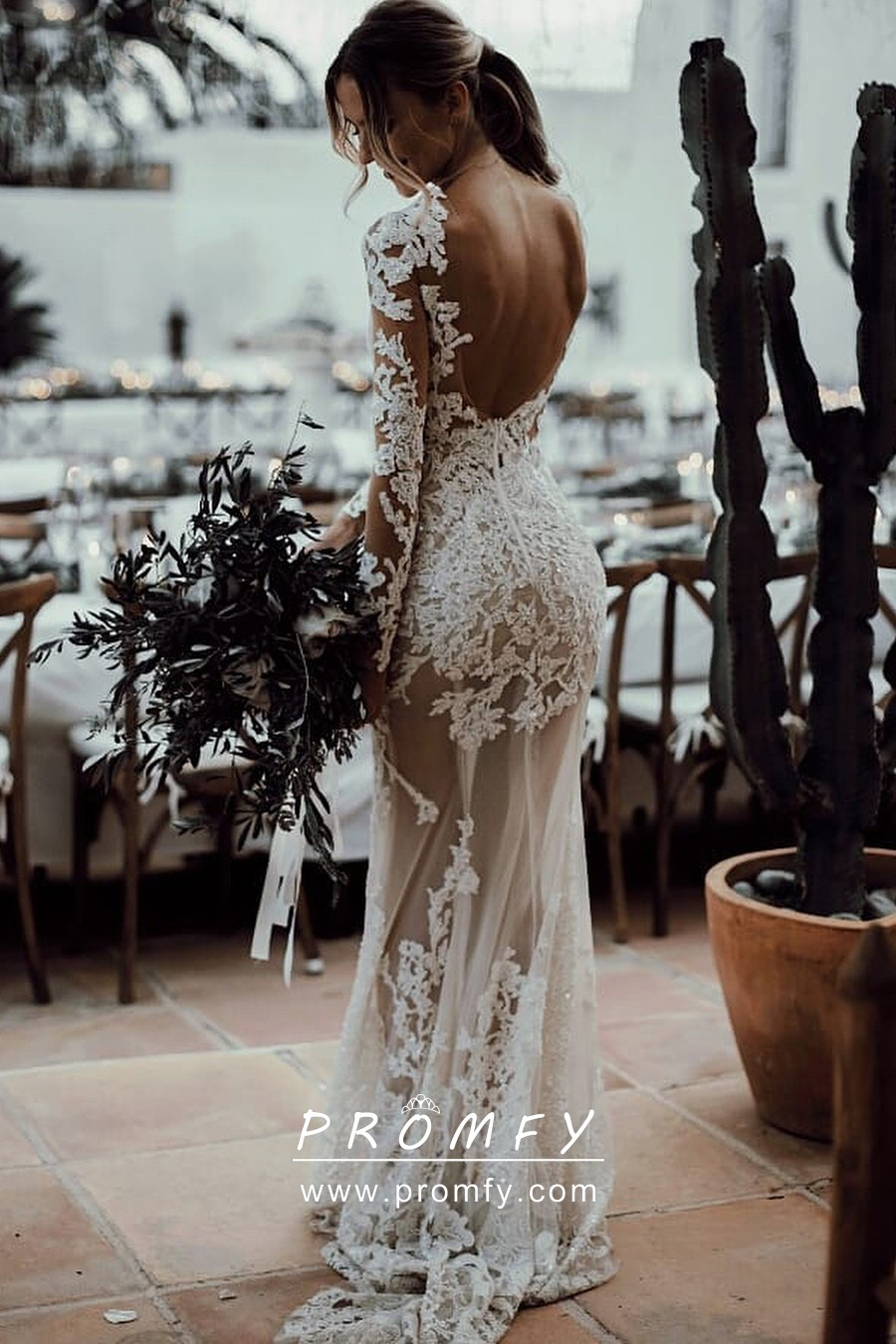 Pin On Lace Wedding Dresses [ 1350 x 900 Pixel ]
