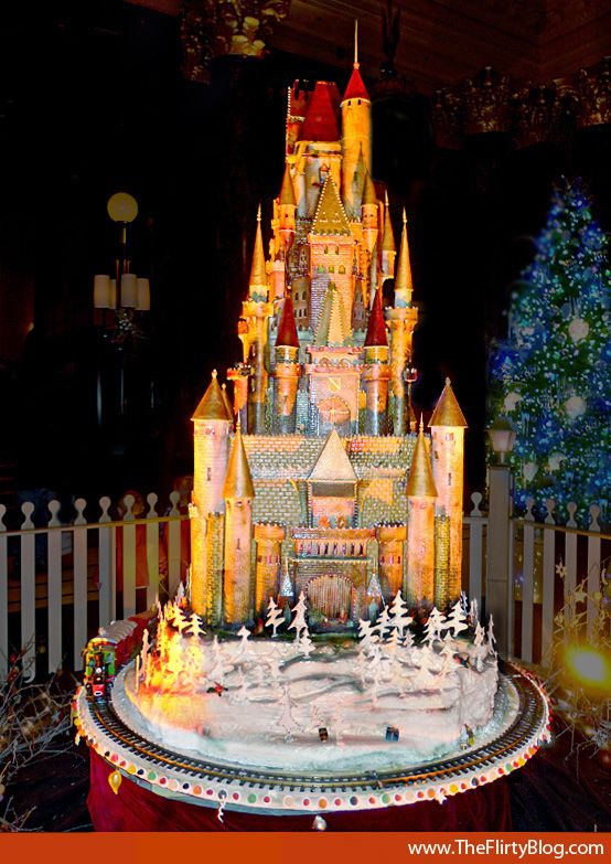 "Gingerbread Castle // 12 foot high ""Sugar Castle"" created ..."