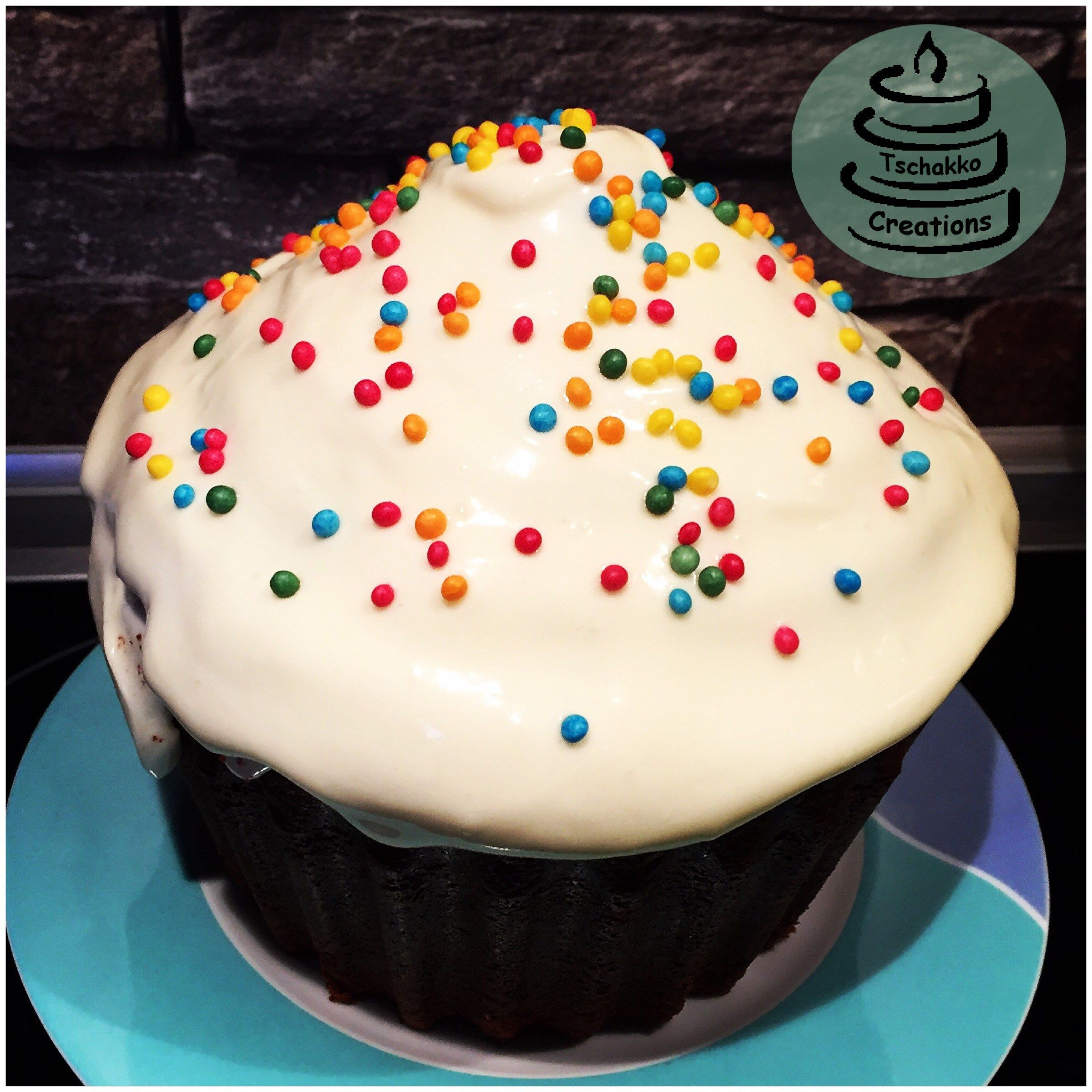 """Southern Red Velvet """"Cup""""-Cake – Tschakko Creations"""